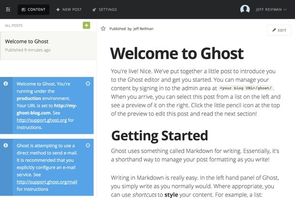 Keeping Up with #Ghost 0.5