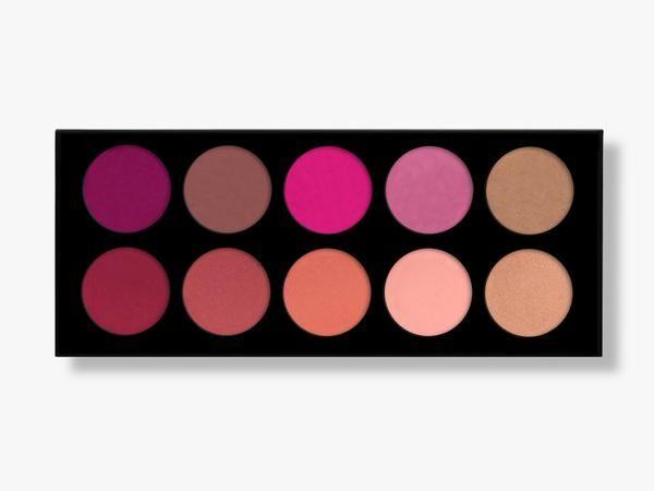 10 Pigmented Professional Blush & Bronzer Palette Makeup Kit Set Pro Palette High-end Formula (Blushes & Bronzer) – Karity