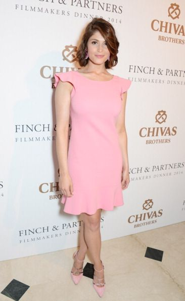 Fabulously Spotted: Gemma Arterton Wearing Anne Fontaine - Charles Finch Filmmakers Dinner - http://www.becauseiamfabulous.com/2014/05/gemma-arterton-wearing-anne-fontaine-charles-finch-filmmakers-dinner/