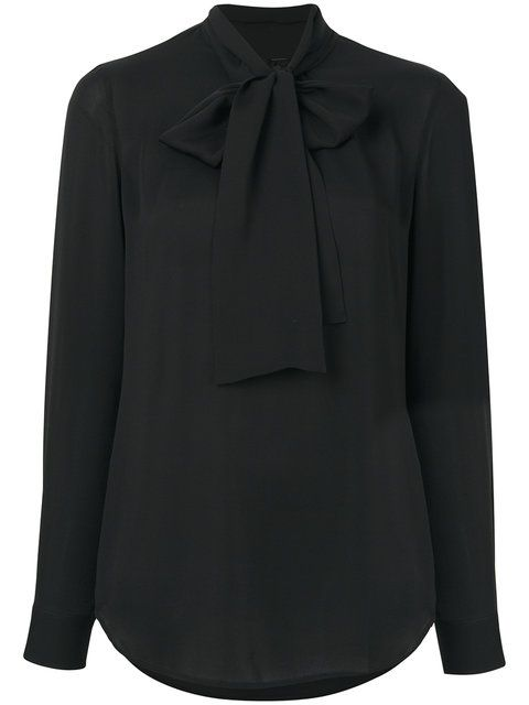 DSQUARED2 Pussy-Bow Blouse. #dsquared2 #cloth #blouse