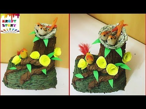 Best 25 waste material craft ideas on pinterest craft for Showpiece from waste material