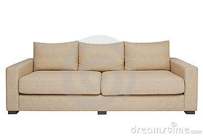 Billig sofa beige