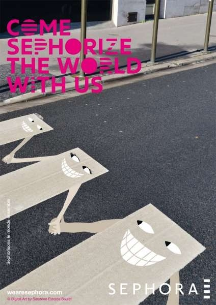 Campagne - Come Sephorize The World with us