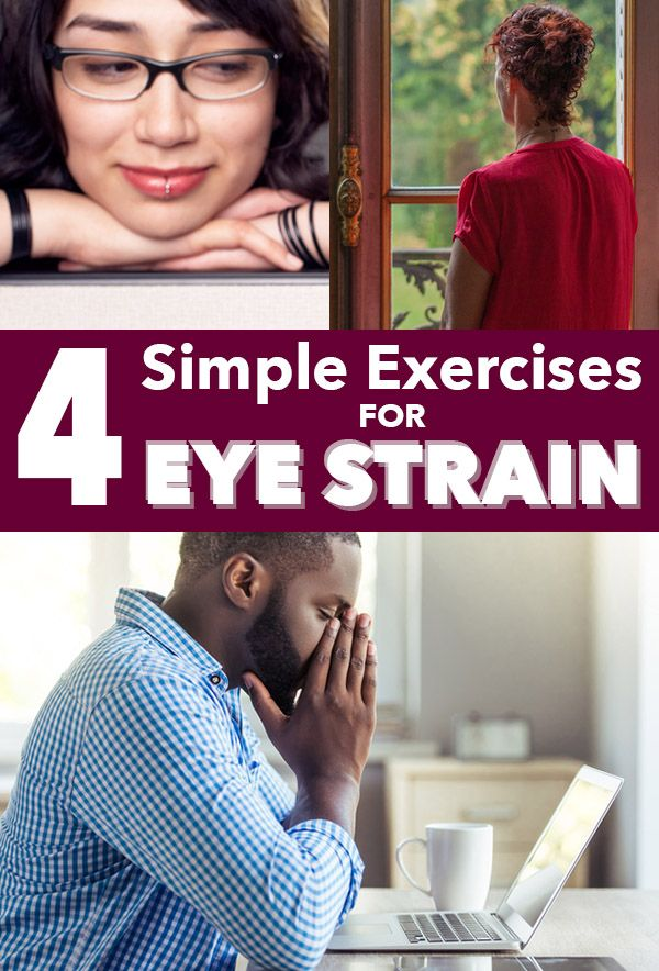 Do you sit at a computer for most of the day? Learn about how screen time impacts eye health and try some of these simple exercises for eye strain.