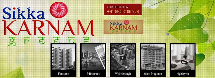 For latest Development in residential apartment, #sikkakarnamgreens  which is located at sector 143 Noida.