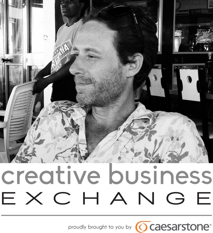 Speaking of his success at Creative Business Exchange is Richard Stretton architect and furniture designer of Koop Design