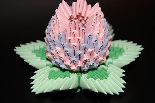 lotus origami flower