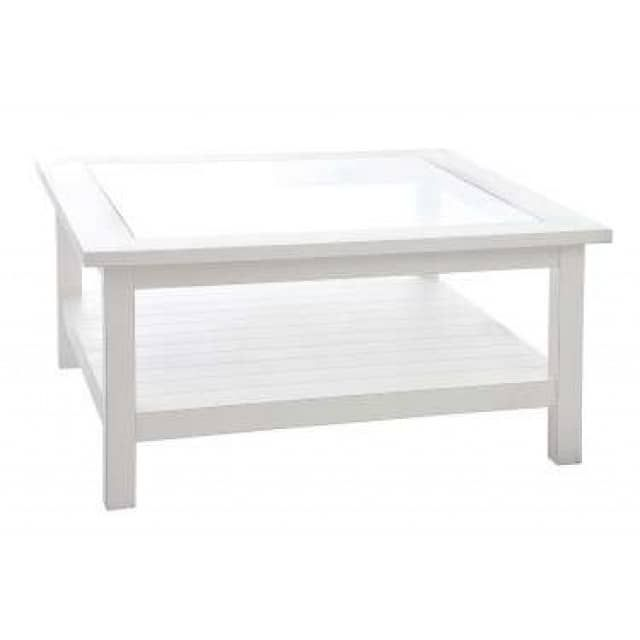 Oltre 25 fantastiche idee su table basse verre et bois su pinterest tavolin - Table basse bois blanc ...