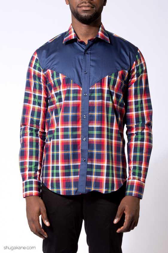 Lumber Jack Pattern Style Shirt . http://shugakane.com.ng/shop/lorenore/lumber-jack-pattern-style-shirt/