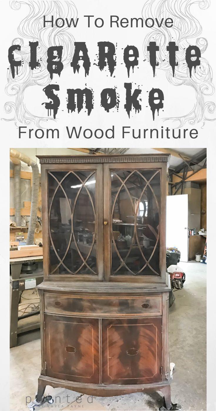 So Entfernen Sie Rauchgeruch Von Holzmobeln Mobel Entfernen Geruch Rauch Holz In 2020 With Images Cleaning Wood Cleaning Wood Furniture Remove Smoke Smell