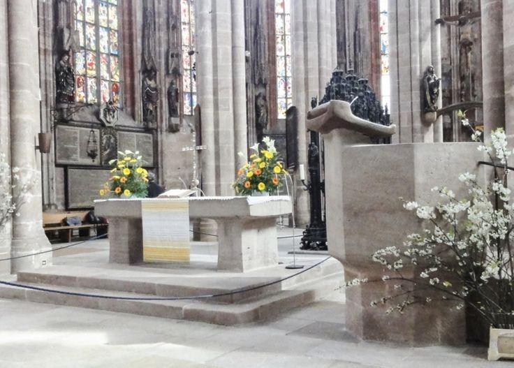 "St Sebaldus Church (Nuremburg) altar, Easter 2012. Read ""Easter in Germany: Bavaria"", on my short story blog."