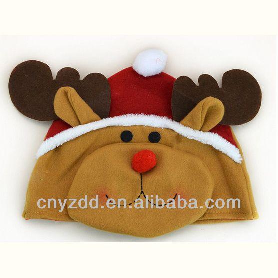 Engraçado chapéu do natal / rena chapéu de natal-imagem-Decorações de Natal-ID do produto:1566082047-portuguese.alibaba.com