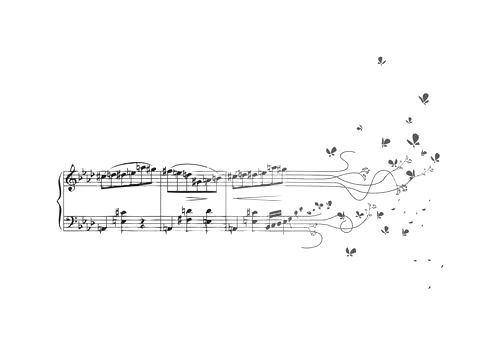 music into butterflies...LOVE