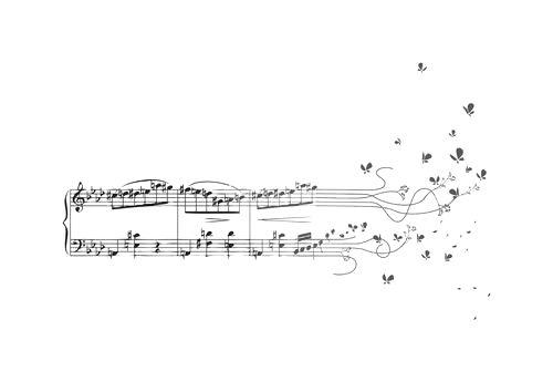 music into butterflies...LOVE