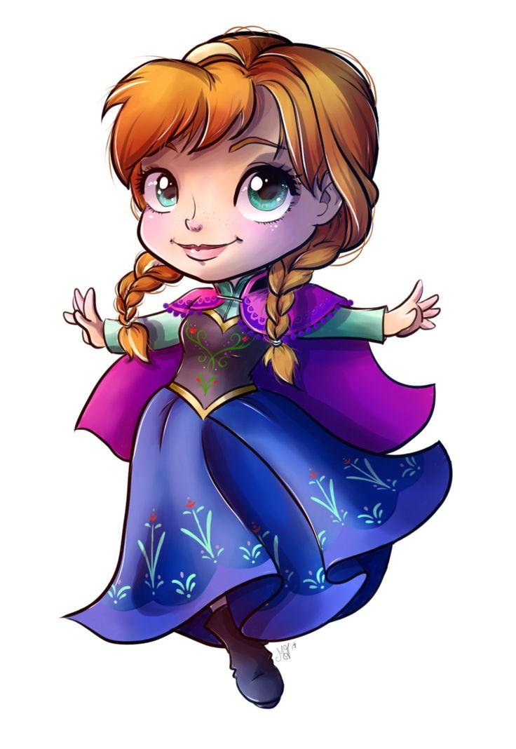 Disney Cute Kawaii Wallpaper Princess Anna By Danikamorningstar On Deviantart Disney
