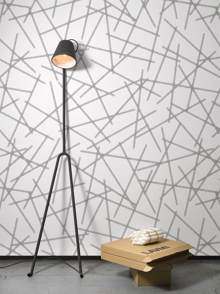 Frost / non-woven wallpaper / lavmi