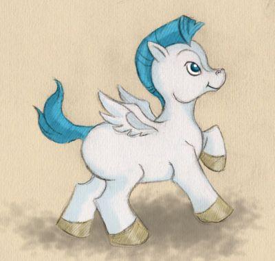 Disney challenge day 4- sidekick you wish you had- Pegasus-