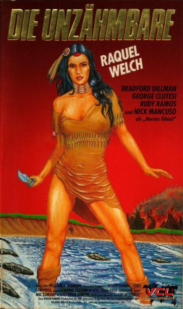 The Legend Of Walks Far Woman German VHS cover