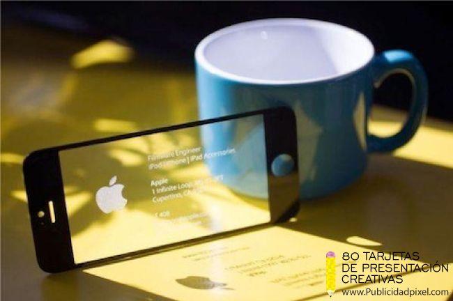ejemplos de tarjetas de presentacion transparentes creativas