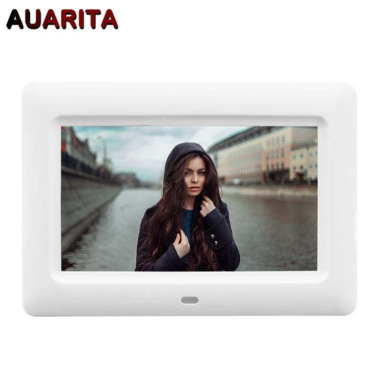 """==> [Free Shipping] Buy Best 7"""" HD LCD Digital Photo Frame 800480 Electronic Picture Frame Clock Calendar MP3 MP4 Movie Player with Remote Control Online with LOWEST Price 