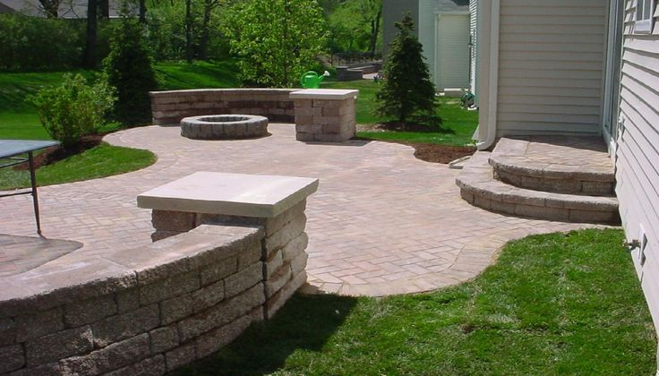 Image result for patio concrete pavers patterns like wood