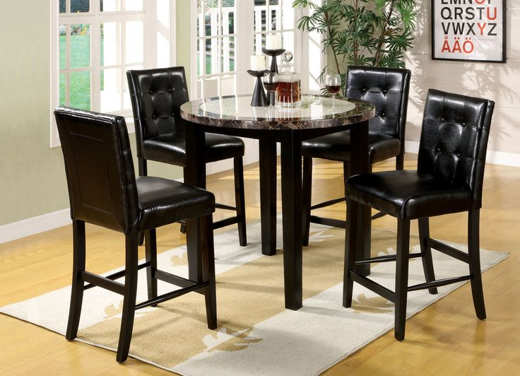 best Tables  on Pinterest  Counter height dining table
