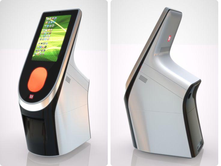 Studio Backs - bCODE MP300 Retail Terminal