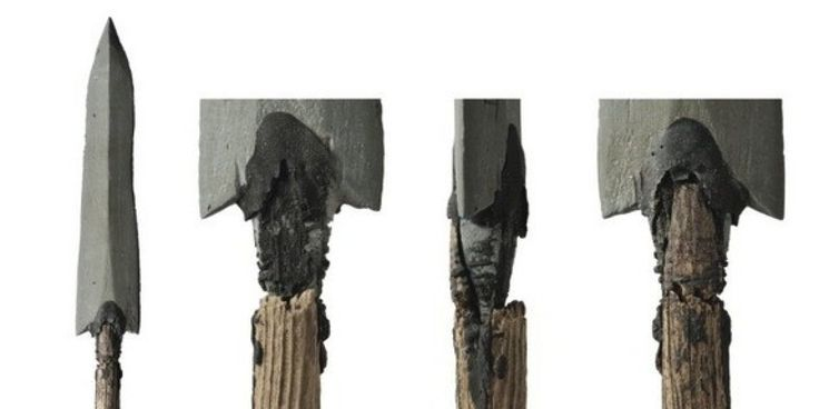"""A melting patch of ancient snow in the mountains of Norway has revealed a bow and arrows likely used by hunters to kill reindeer as long ago as 5,400 years.  The discovery highlights the worrying effects of climate change, said study author Martin Callanan, an archaeologist at the Norwegian University of Science and Technology.  """"It's actually a little bit unnerving that they're so old and that they're coming out right now,"""" Callanan told LiveScience. """"It tells us that there's something…"""