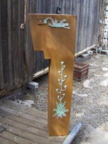 Metal Art Bells Wine Racks Western Mailboxes Southwestern Lighting Bath Tucson