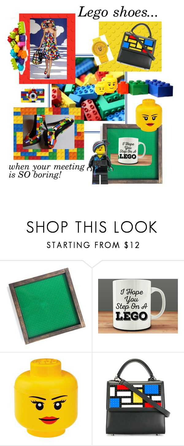 """Inspired by The Lego Movie"" by october-cat-studios ❤ liked on Polyvore featuring COOLA Suncare, ROOM COPENHAGEN and Les Petits Joueurs"