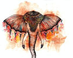 Elephant by ishkaart
