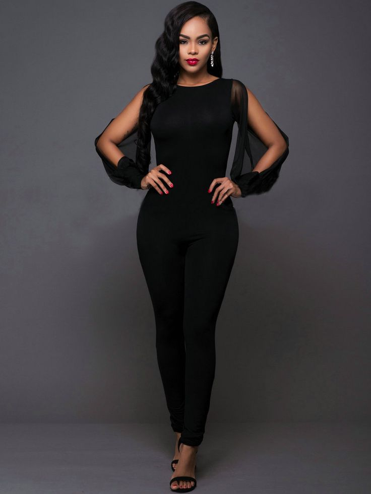 Ericdress Unique Slim Jumpsuits Pants