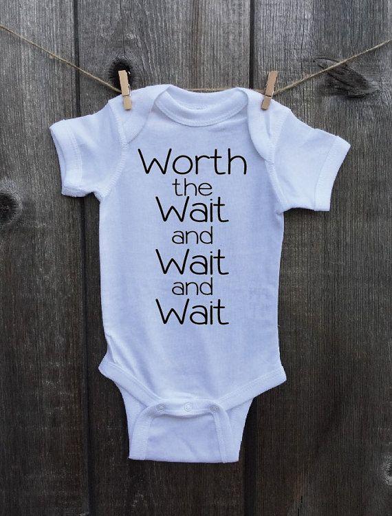 Miracle Baby onesie or Toddler Tshirt. Worth by StreetWeddingShop