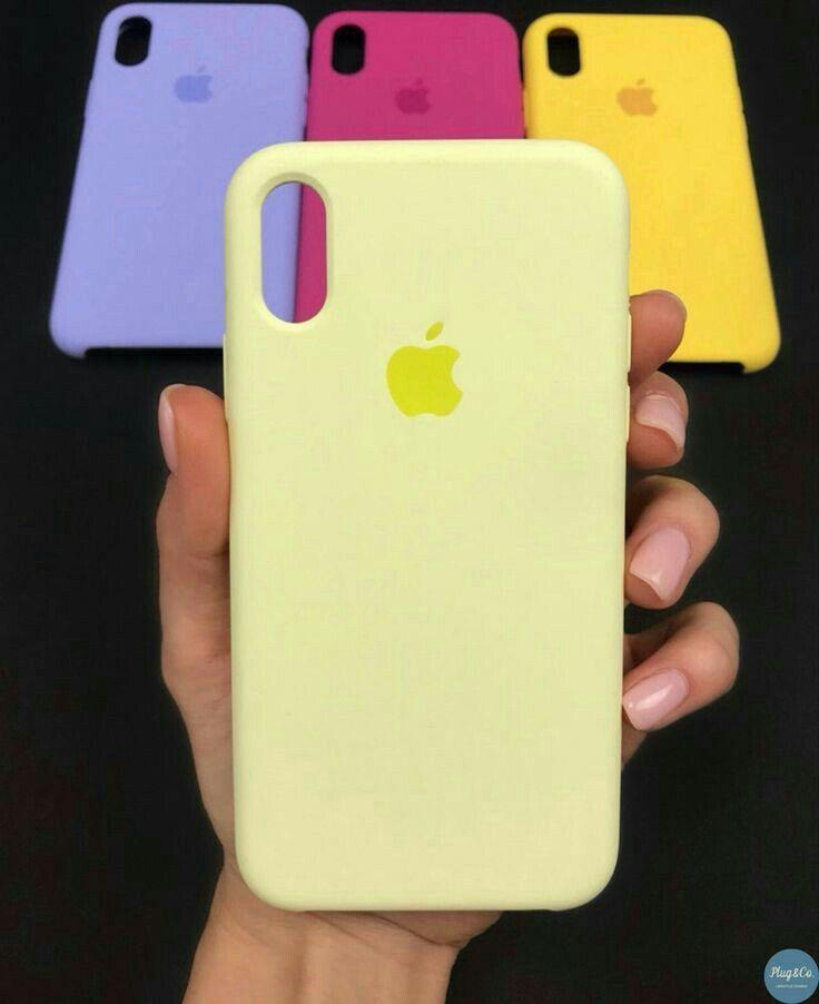 Funda Amarilla De Silicona Iphone Phone Cases Apple Phone Case Iphone