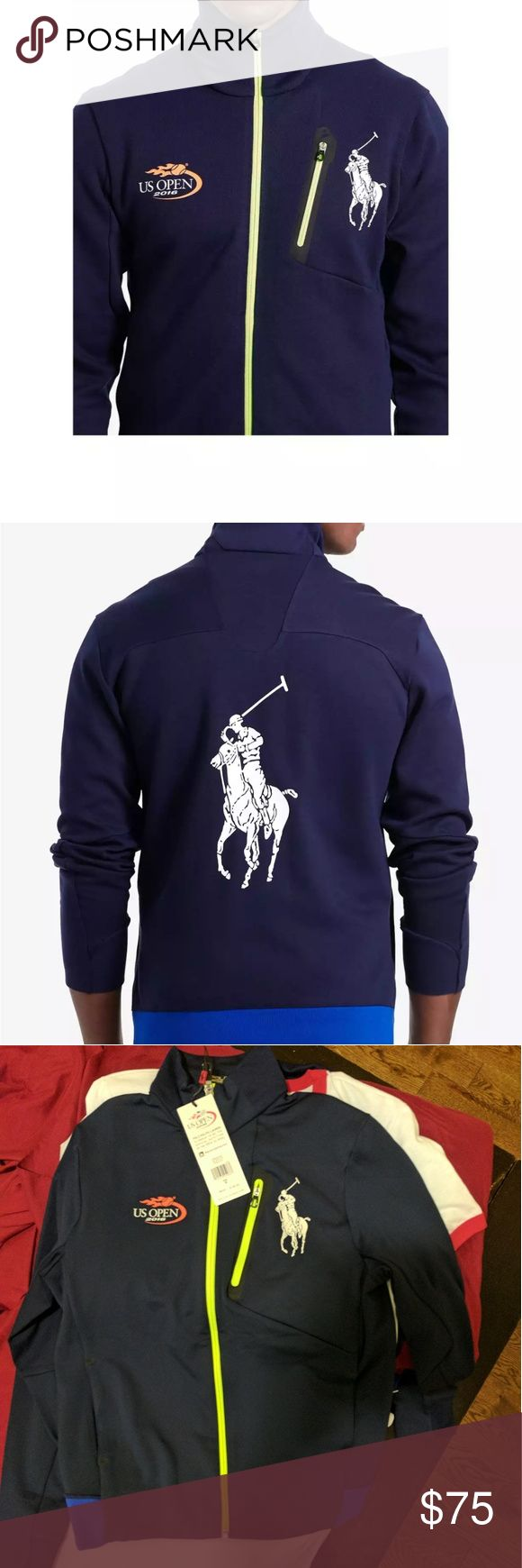 Collectors item- 2016 US Open polo Jacket Brand New! Tags on 2016  USOpen Ralph Lauren Jacket Ralph Lauren Jackets & Coats Utility Jackets