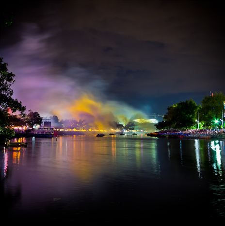 Smoke on the water by Kitchenwench