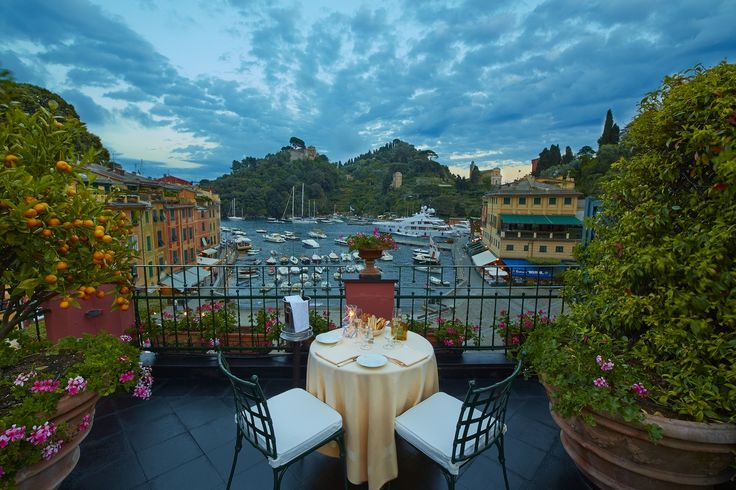 Stretching across the entire top floor of Belmond Splendido Mare, enjoy incomparable views of the harbour and Castello Brown from the generous terrace of the Ava Gardner Suite