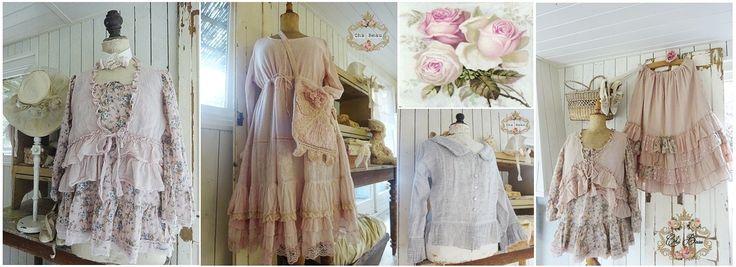 Brocante/Romantische kleding, ontworpen door Cha Beau.De kleding is allemaal lekker ruim, zodat het ook geschikt is voor de grotere maten. Deze prachtige kleding is uniek en nergens anders te verkrijgen.
