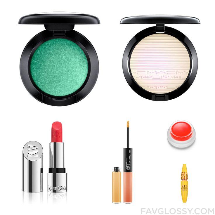 Makeup Products Including Mac Cosmetics Eyeshadow Mac Cosmetics Makeup Kjaer Weis Lipstick And Mac Cosmetics Concealer From November 2016 #beauty #makeup