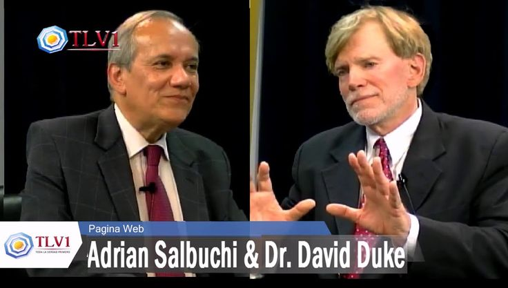 Dr David Duke & Adrian Salbuchi on Argentina TV