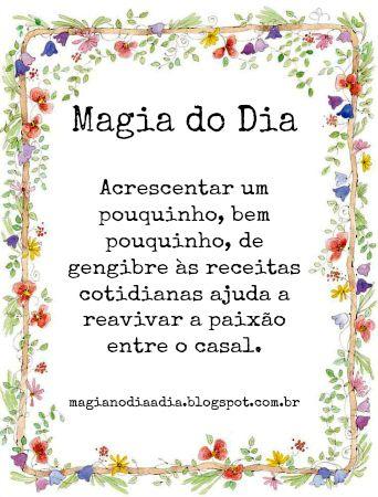 Magia no Dia a Dia: Magia do Dia: gengibre http://magianodiaadia.blogspot.com.br/2017/04/magia-do-dia-gengibre.html