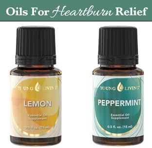 Which essential oils to use for heartburn relief + several more natural remedies for heartburn!