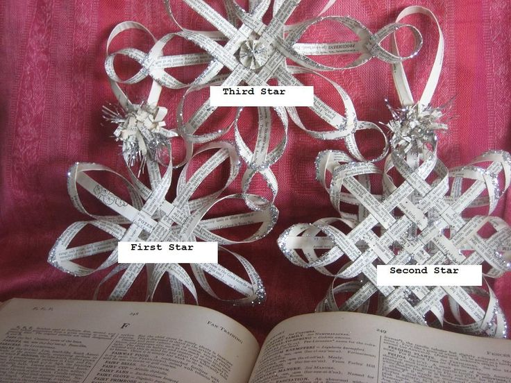 Finally! The second Scandinavian Star tutorial is here!       **Important Note:    The woven star is a very old traditional pattern  that...