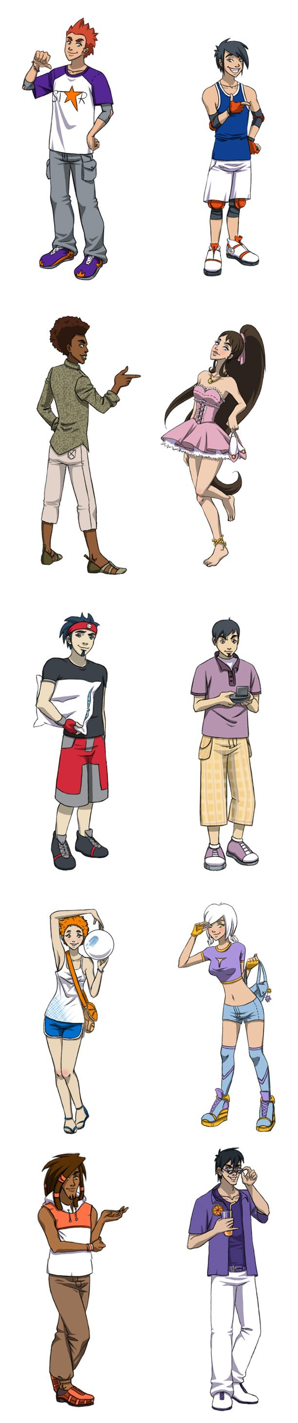 .::GF Characters::. by Marion-Light.deviantart.com on @DeviantArt
