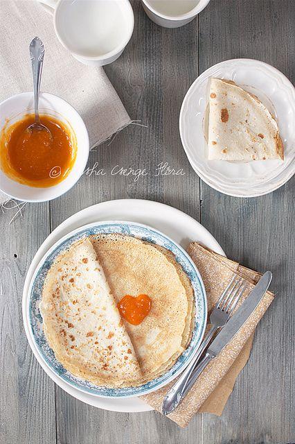 Creps Senza Uova e Latte LEGGI LA RICETTA ► http://www.dolciricette.org/2012/09/crepes-senza-uova-e-latte-ricetta.html