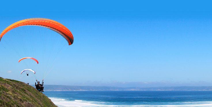 Gleitschirmfliegen Schnupperkurs Erlau für zwei Tage #Fallschirm #Geschenk #Heimat