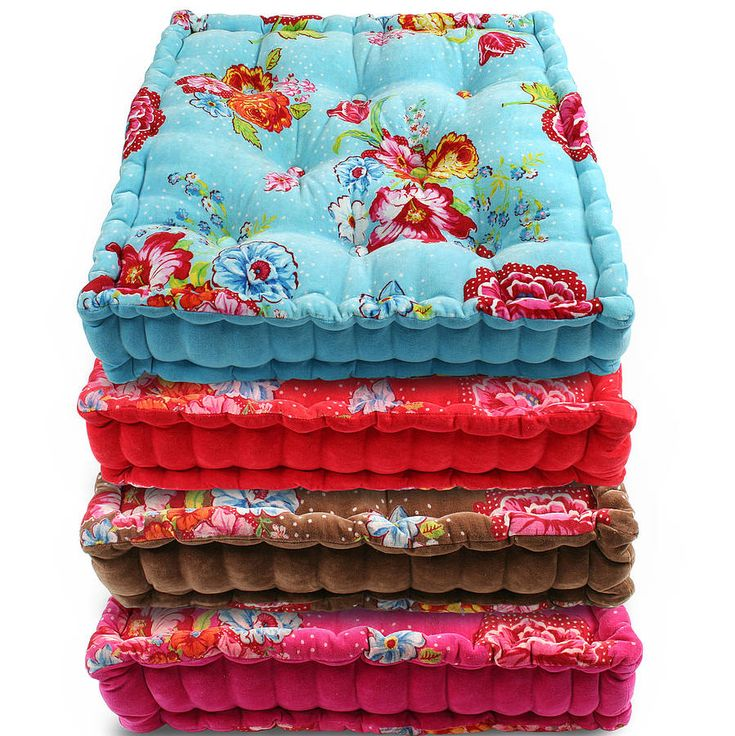 floral floor cushion by pip studio by fifty one percent | notonthehighstreet.com