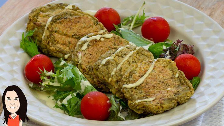 EASY Baked Chickpea & Potato Burger Patties - NO OIL Vegan Recipe!
