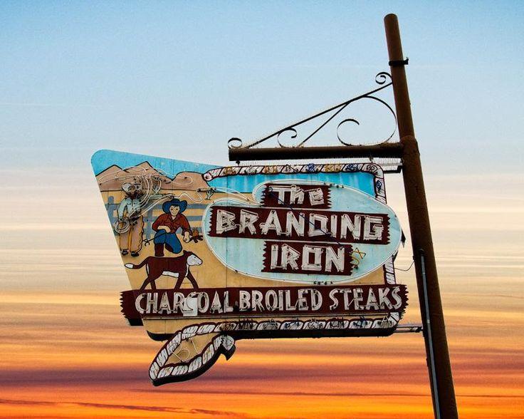 Photograph of The Branding Iron, Merced,California
