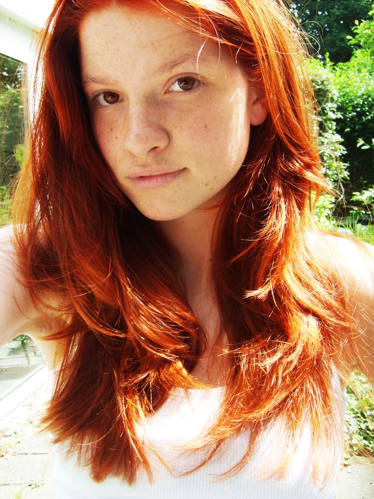 Redheads the essence of innocence